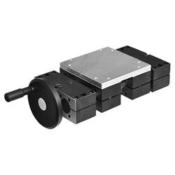 Double tube linear actuators, double slider