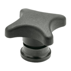 Hand knobs with increased clamping force
