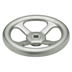 Handwheels, pressed Stainless Steel, AISI 304 (A2)
