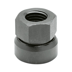 Hexagon nuts with ball socket