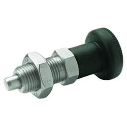 Indexing plungers, Stainless Steel / Plastic knob