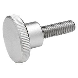 Knurled screws, Stainless Steel