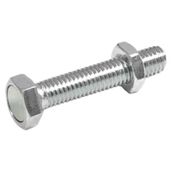 Setting bolts with retaining magnet, Steel