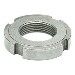 Slotted locknuts, Stainless Steel