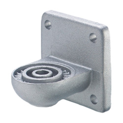 Swivel clamp connector bases, Aluminium