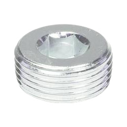Threaded plugs with conical thread, Steel