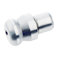 Workholding bolts with ball-type shoulder