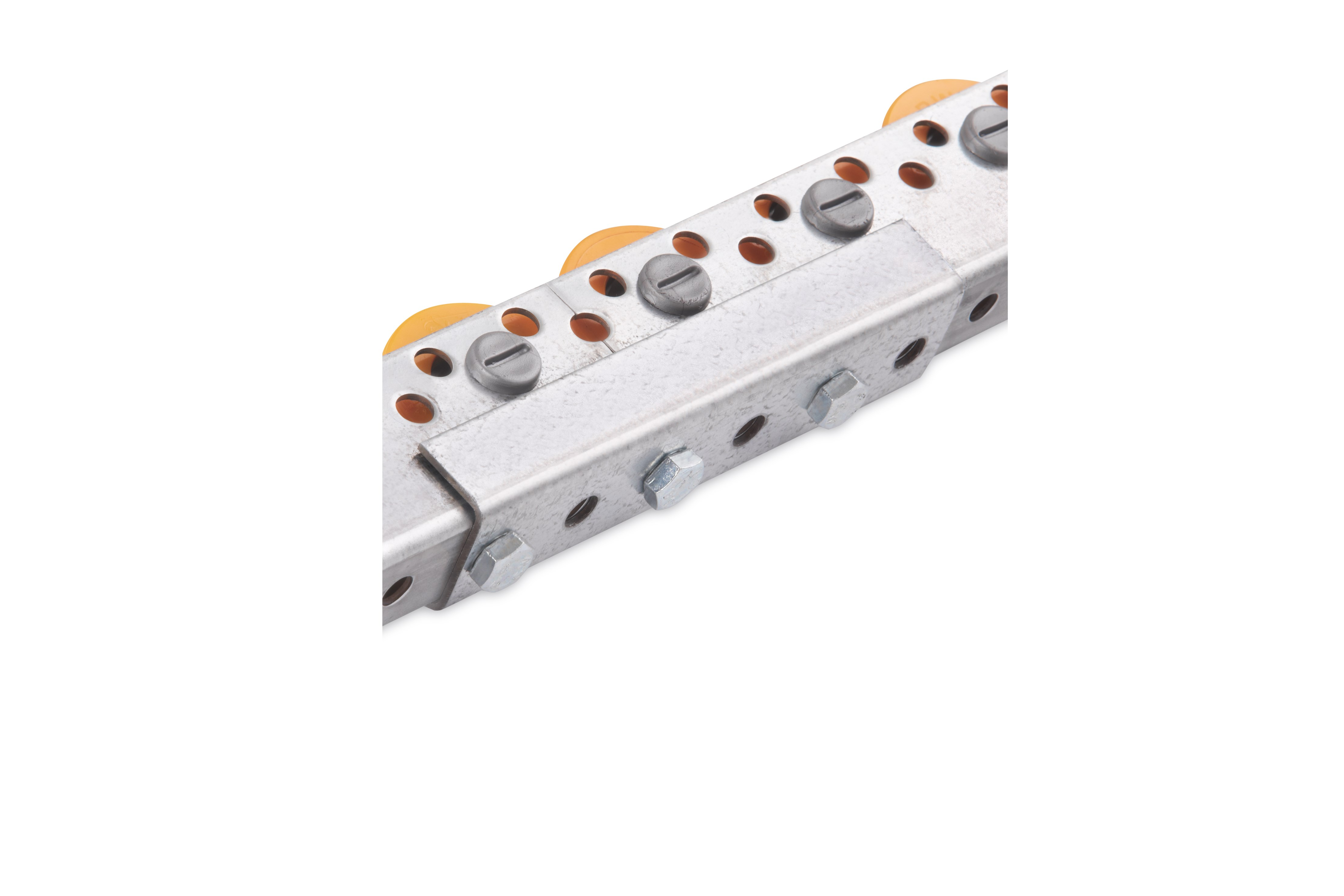 Connector for universal roller rail