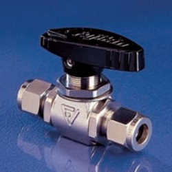 Stainless Steel, 4.9 MPa Powerful Series, Panel-Mounted Type, Ball Valve