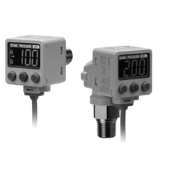 2-Color Display Digital Pressure Switch For General Fluids ZSE80/ISE80 Series