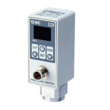 2-Colour Display Digital Pressure Switch for Air, ISE70 Series