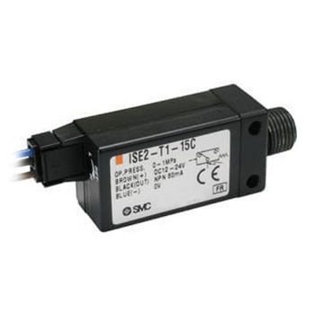 Compact Pressure Switch, Positive Pressure for ZX/ZR Vacuum System, ISE2 Series
