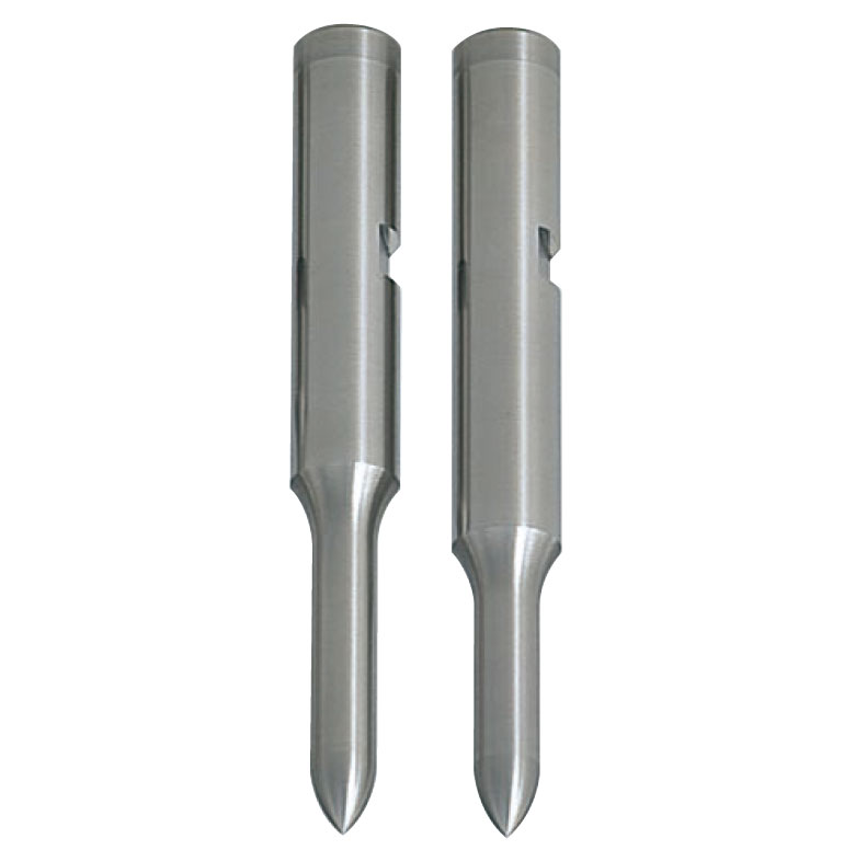 Pilot Punches with Key Grooves  DLC Coating Tip R Type