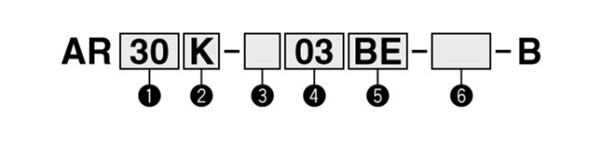 Model number example