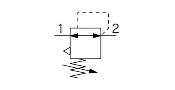 Regulator - Single Unit Type ARM5S Series: JIS symbol, relieving type