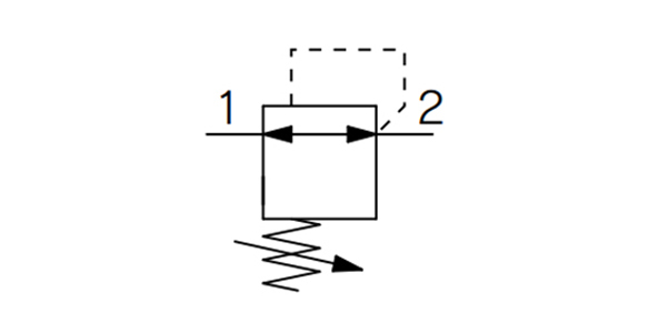 Regulator - Single Unit Type ARM5S Series: JIS symbol, non-relieving type